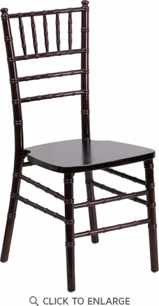 HERCULES Series Walnut Wood Chiavari Chair [XS-WALNUT-GG]