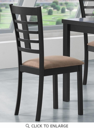 Kato Cappuccino Finish Dining Chairs 103982 - Set of 2