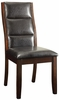 Lacombe Upholstered Leatherette Parson Dining Chair by Coaster 105842 - Set of 2