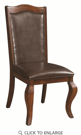 Louanna Transitional Upholstered Dining Chairs by Coaster 104842 - Set of 2
