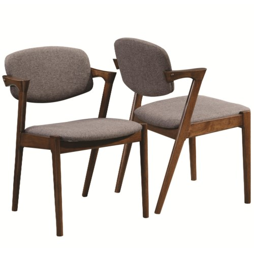 Malone Mid Century Modern Dining Side Chair Set Of 2
