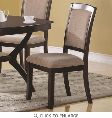 Memphis Upholstered Dining Chairs Furniture 102752 - Set of 2