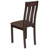 Milton Espresso Finish Wood Dining Chair with Vertical Slat Back and Golden Honey Brown Fabric Seat [ES-CB-2442YBH-E-GH-GG]