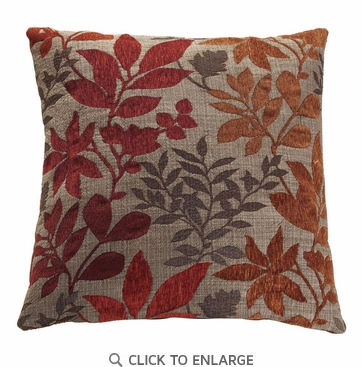 Muti-Color Flower Pattern Accent Pillow by Coaster 905017 - Set of Two