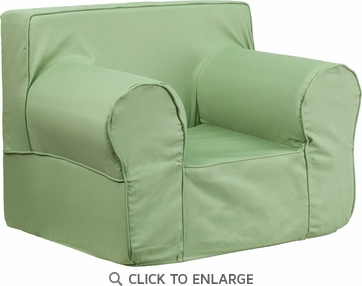Oversized Solid Green Kids Chair [DG-LGE-CH-KID-SOLID-GRN-GG]