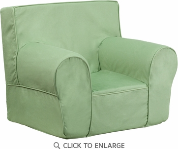 Small Solid Green Kids Chair [DG-CH-KID-SOLID-GRN-GG]