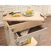 Small White Kitchen Island With Removable Cutting Board