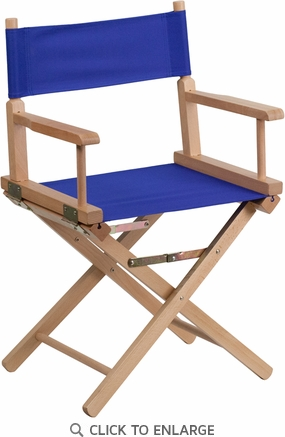 Standard Height Directors Chair in Blue [TYD02-BL-GG]