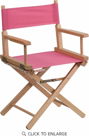 Standard Height Directors Chair in Pink [TYD02-PK-GG]