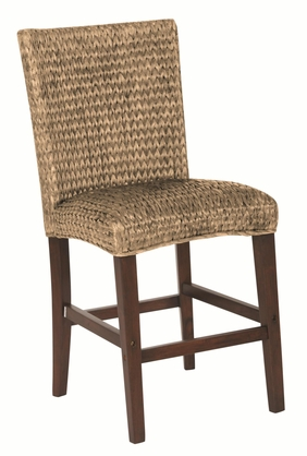 Westbrook Woven Natural Counter Height Dining Chair by Coaster 101095 - Set of 2