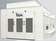 """IDEAL"" SIDE DOWN DRAFT PAINT BOOTH - Overstock Price(over 15 units in stock) - Call for Quote - Ships within 24 hours of payment<BR>"