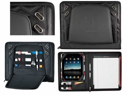 "Advance Tech Custom Padfolio and 10"" Tablet Holder - 11""w x 14""h"