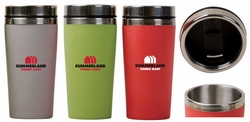 Bamboo and Steel Eco-Friendly Travel Mug