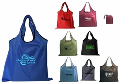Collapsible Logo Tote Bag (Made of Recycled Bottles)