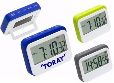 Countertop Dual Clock and Timer, Customized
