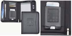 "Custom Tech Padfolio with Tablet Pocket- 11""w x 9""h"