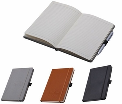 Faux Leather 5x8 Custom Journal Notebook