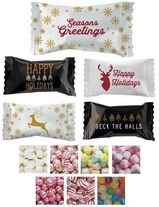 Holiday Season Individually Wrapped Mints & Candies - Case of 1000