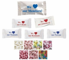 """We Love Our"" Mint & Candy Series - Case of 1000"