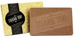 Thank You Belgian Chocolate Bar Gifts (Case of 20)