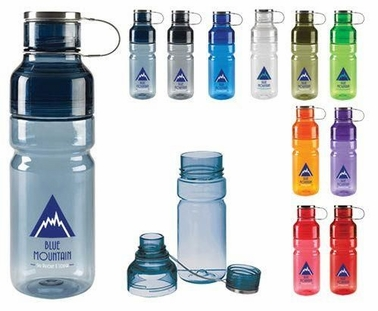 Wide Mouth Double Top Sports Bottle, Customized
