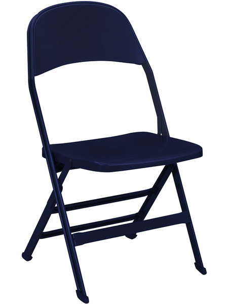 3000 series vinyl upholstered seat and back folding chair