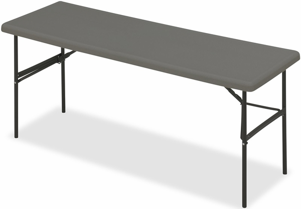 IndestrucTABLE TOO 18 39 39 W X 60 39 39 D Rectangular Folding Table