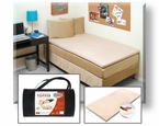 Campus Mattress Topper - Two inch Memory Foam
