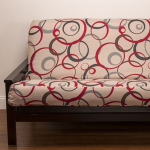 Circlet Futon Cover - Pillows & Bolsters also available