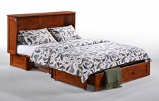 Clover Murphy Cabinet Bed - Instant Guest Bed