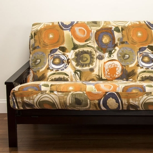 Enchanted Maze Futon Cover - Pillows & Bolsters also available