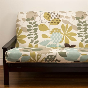 English Garden Futon Cover - Pillows & Bolsters also available