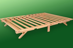 Fold-A-Bed Hardwood Frame - The perfect guest bed!