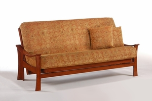 Fuji Sofa Bed Futon Frame - Solid Hardwood