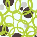 Full Circle Green Futon Cover - Pillows & Bolsters also available