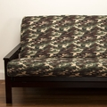 Galaxy Camo Futon Cover - Pillows & Bolsters also available