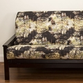 Graffiti Futon Cover - Pillows & Bolsters also available