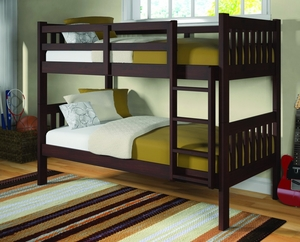 Mission Bunk Bed Frame - Twin/Twin