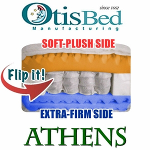 Otis Athens - Dual-Comfort Pocket Coil Futon Mattress