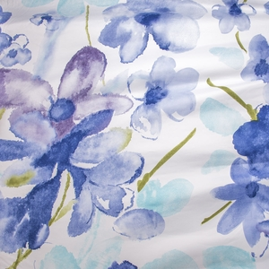 Painted Petals Futon Cover - Pillows & Bolsters also available