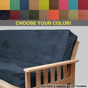 full futons fairbanks place cabin cover set deluxe rustic htm lodge futon