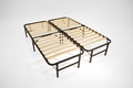 Pragma Bed Frame - Wooden Slat Simple Base