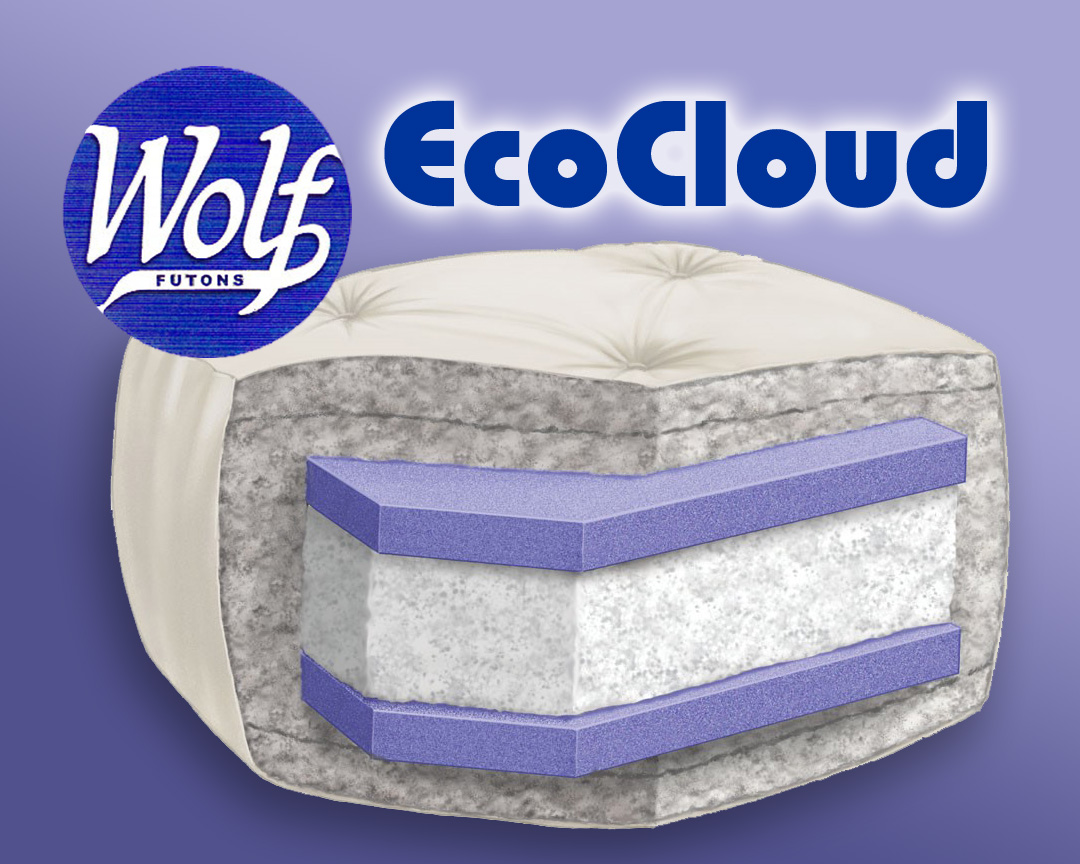 wolf ecocloud futon mattress