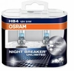 "Osram Night Breaker® Plus ""Unlimited"" Ultra High Output 55w 9006 for both Lo Beam and Fog Lamp Applications"
