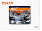 "<font color =""red""><b>NEW!!</b></font color> Osram Night Breaker® Plus ""Unlimited"" Ultra High Output 55w H4 / HB2 / 9003"