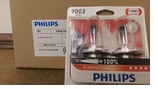 Philips Xtreme Vision XTV 9003 XTP / H4 / HB2  60/55W Lamp (2-Pack)