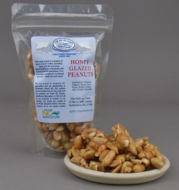 Honey Glazed Peanuts