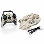 Air Hogs Star Wars Remote Control Ultimate Millennium Falcon Quad - click to enlarge