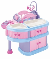 American Plastic Toys 23600 Deluxe Nursery - click to enlarge