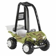 American Plastic Toys 30360 Camo Utility ATV - click to enlarge